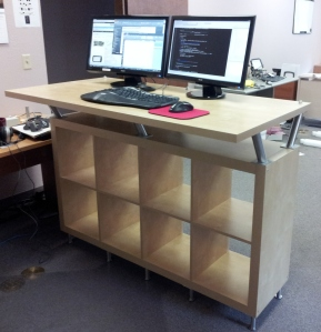 Damion's Standing Desk